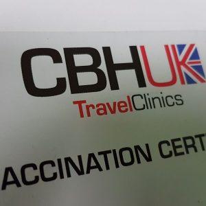 CBHUK ACWY Vaccination Certificate