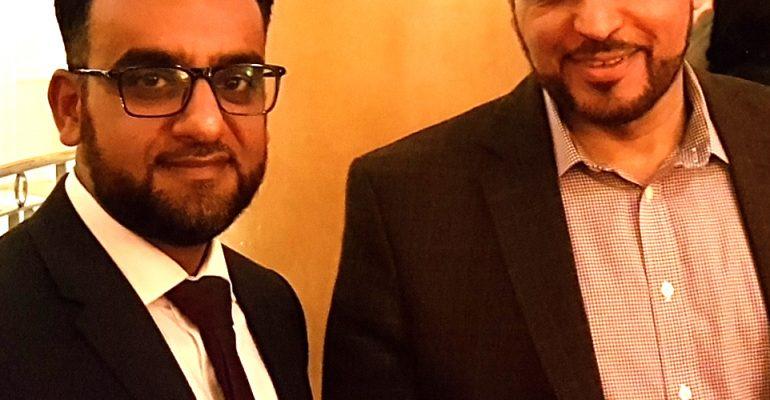 Rashid Mogradia and Dr Ahmed Al Dubayan